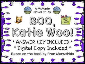 BOO, Katie Woo! (Fran Manushkin) Novel Study / Comprehension Unit