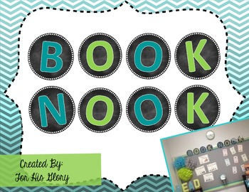 BOOK NOOK (Classroom Library Title)
