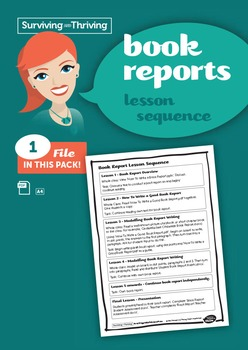 BOOK REPORT - Lesson Sequence
