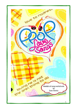BOOKLET OF SONG WORKSHEETS