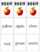 BOOM Sight Word Game - Apple Themed