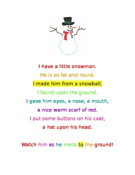 BOOMWHACKERS SNOWMAN SONG