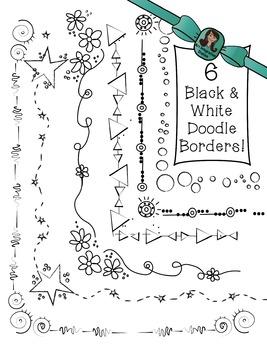 BORDER and FRAME Doodles!