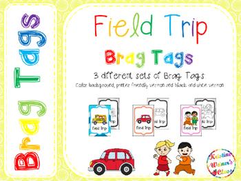 BRAG TAGS: Field Trip {Freebie}