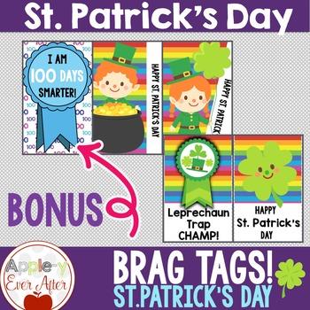 BRAG TAGS - St. Patrick's Day