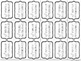BRAG TAGS: Perfect Attendance--Black and White Version {Be