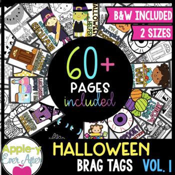 BRAG TAGS - VOLUME 2 - Halloween Edition