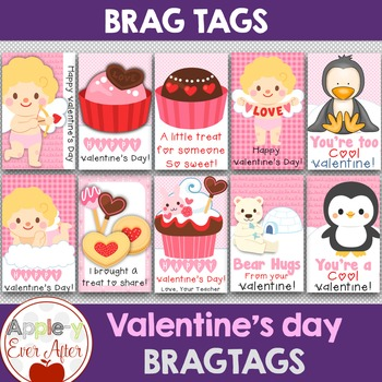 BRAG TAGS - Valentine's Day