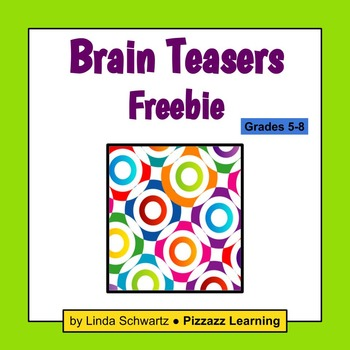BRAIN TEASERS FREEBIE –a sampler