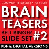 BRAIN TEASERS VOL. 2 – Logic, Word Sense, Puzzles, Lateral