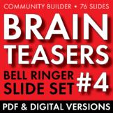 BRAIN TEASERS VOL. 4 – Logic, Word Sense, Puzzles, Lateral