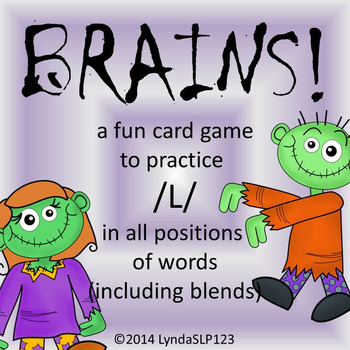 BRAINS!! Articulation Game for /L/