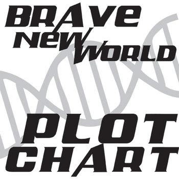 BRAVE NEW WORLD Plot Chart Organizer Diagram Arc (by Huxle