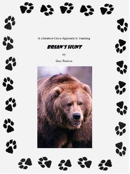 BRIAN'S HUNT Full Literature Circle Unit