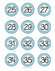 BRIGHT Classroom Numbers 1-36