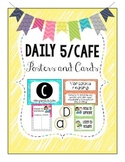 BRIGHT Daily 5/CAFÉ Posters and Strategy Cards