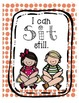 """BRIGHT, FUN Classroom Rules Posters Set - """"I Can"""" Statements"""