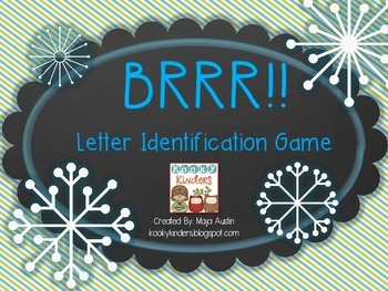 BRRR!! Letter Identification Game