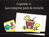 BUEN VIAJE CH. 3 SCHOOL SUPPLIES AND CLOTHING VOCABULARY PPT