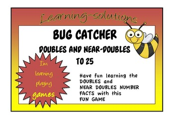 NUMBER FACTS - BUG CATCHER GAME - Doubles and Near-Doubles