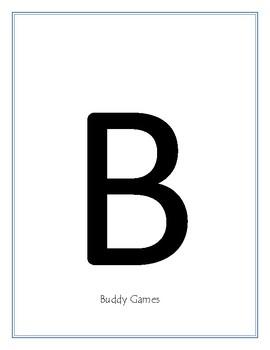 BUILD Classroom Labels