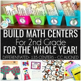 BUILD Stations for 2nd grade for the WHOLE YEAR Growing Bundle