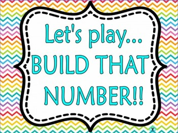 BUILD THAT NUMBER! A Place Value 100% CC flipchart  {FREEBIE}