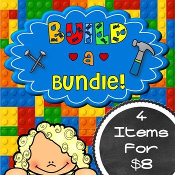 BUILD~a~BUNDLE {4 items for $8.00 }