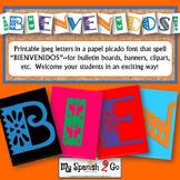 BULLETIN BOARD, BANNER OR CLIP ART:  BIENVENIDOS