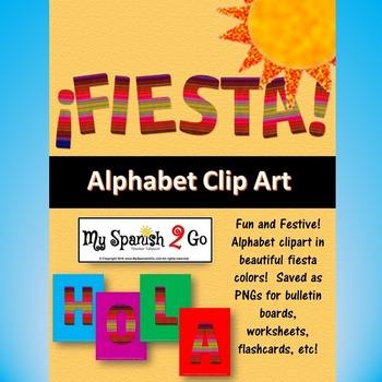 BULLETIN BOARD, BANNER OR CLIP ART:  FIESTA!