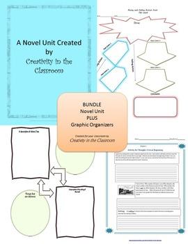 BUNDLE: A  Long Way from Chicago Novel Unit Plus Grammar A