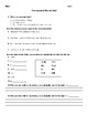BUNDLE: A variety of Grammar Tests
