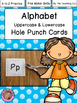 ABC & Beginning Sounds Hole Puncher Cards A to Z {Bundle!}