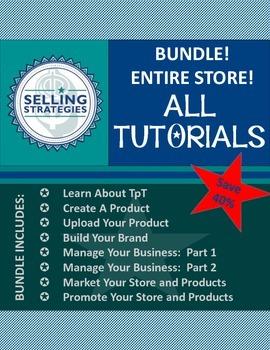 BUNDLE - All Selling Strategies Tutorials