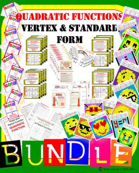 BUNDLE 44 products 50+% OFF Standard & Vertex form of Quad