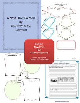 BUNDLE: Among the Hidden Novel Unit Plus Grammar AND Graph