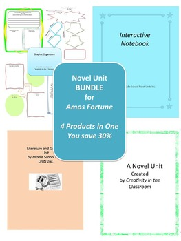 BUNDLE: Amos Fortune 4 Products in 1