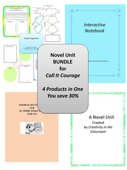BUNDLE: Call It Courage 4 Products in 1