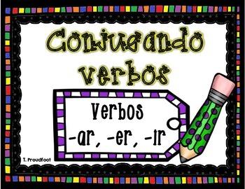 BUNDLE: Conjugando Verbos (Conjugating Verbs)