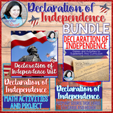 BUNDLE: Declaration of Independence Unit, Activities, and Games