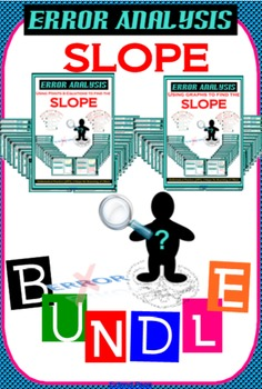 BUNDLE * ERROR ANALYSIS Finding the slope from graphs, poi