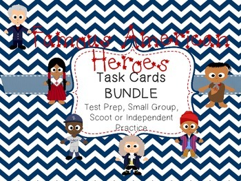 BUNDLE-Famous American Heroes: 6 Sets 120 Cards Total