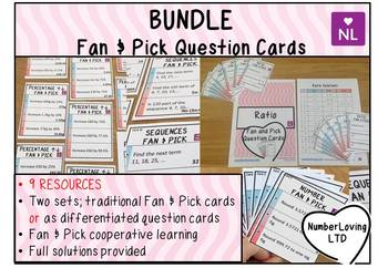 BUNDLE Fan and Pick