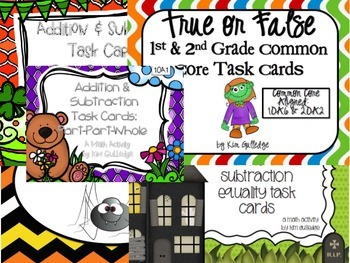 BUNDLE: First Grade Task Cards