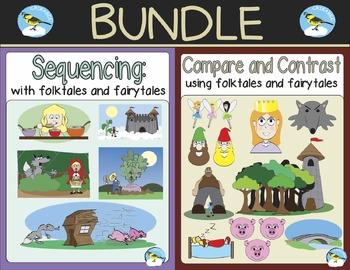 (BUNDLE) Folktales and Fairytales: Compare & Contrast and