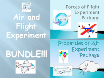 "BUNDLE: ""Forces of Flight"" and ""Properties of Air"" Experim"