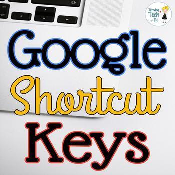 BUNDLE!! Google SITES/DRIVE/SLIDES/Docs Useful Shortcut Ke
