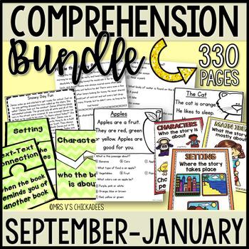 BUNDLE: Kindergarten & First Grade Comprehension for SEPTE