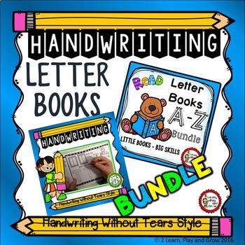 Letter Books and Handwriting Practice Mega Bundle
