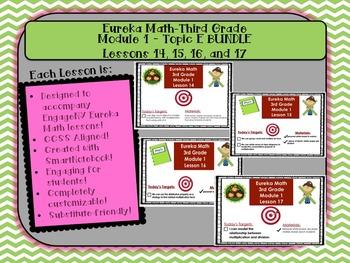 BUNDLE Module 1 Topic E Eureka Math Third Grade SmartBoard